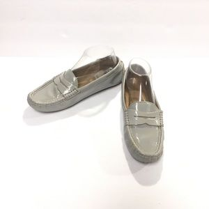 LAUREN Ralph Lauren Camila Light Gray Loafer 7.5B